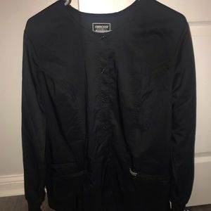 Cherokee scrub jacket size large